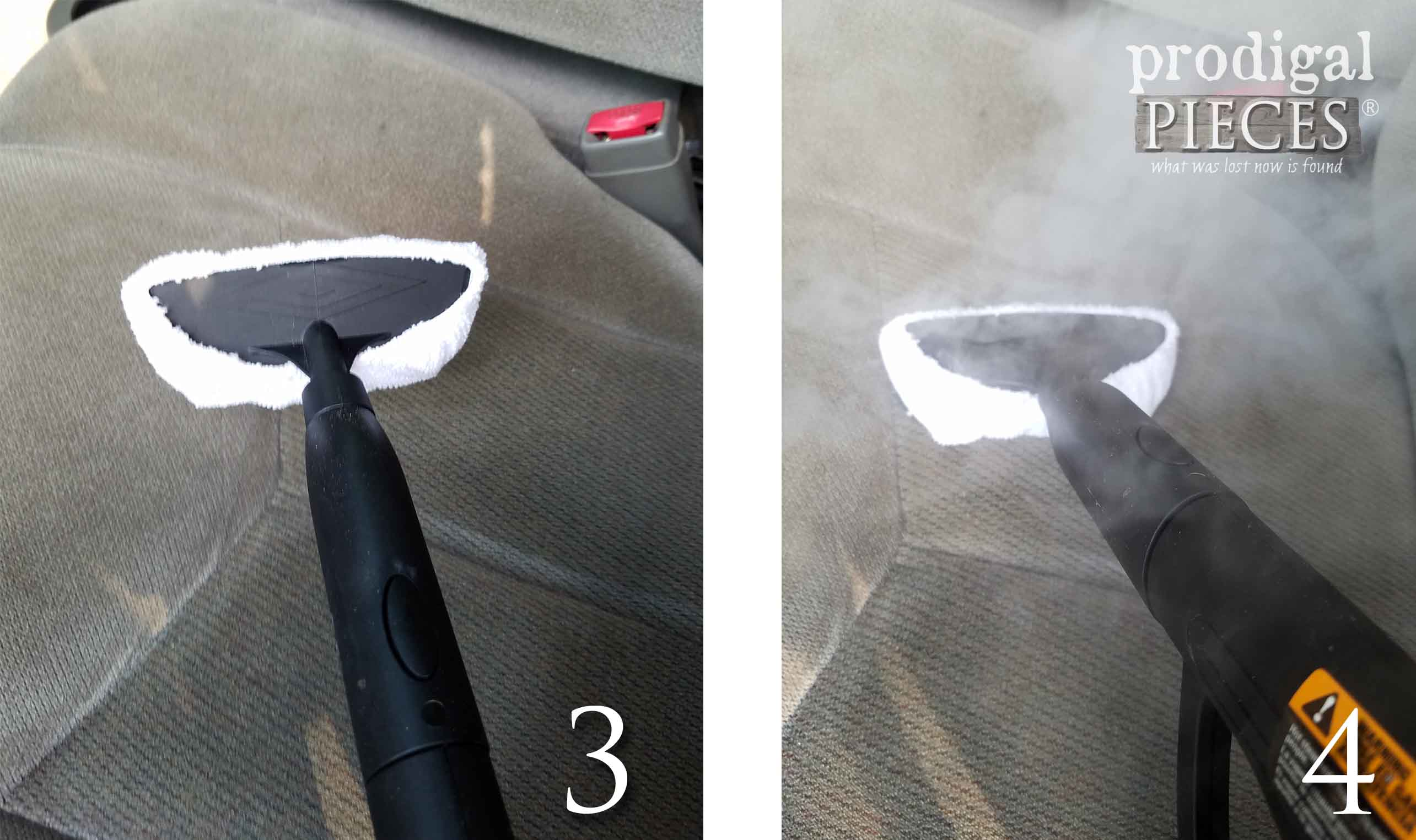 How to Steam Clean Auto Upholstery | prodigalpieces.com