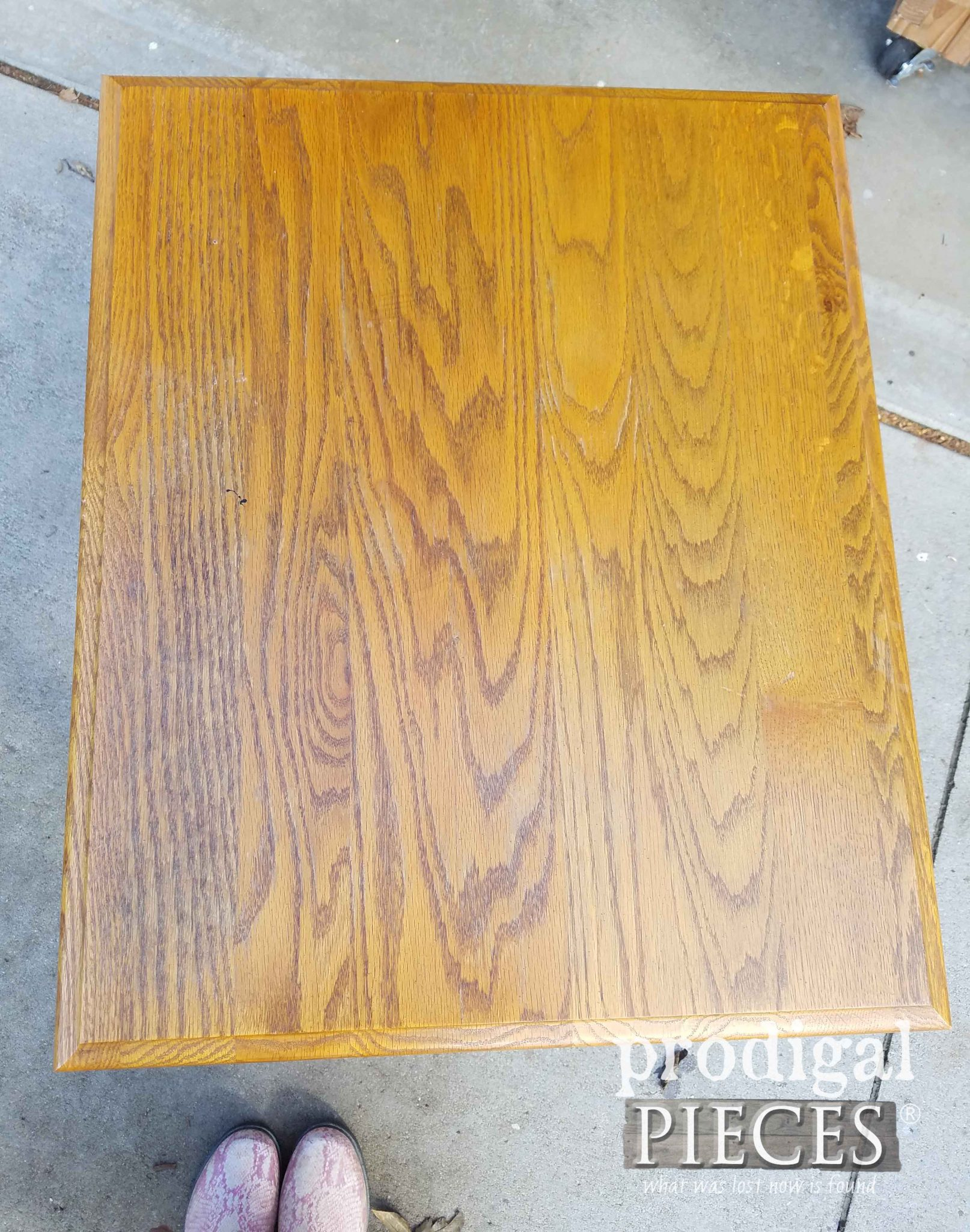 Worn Oak Table Top | prodigalpieces.com