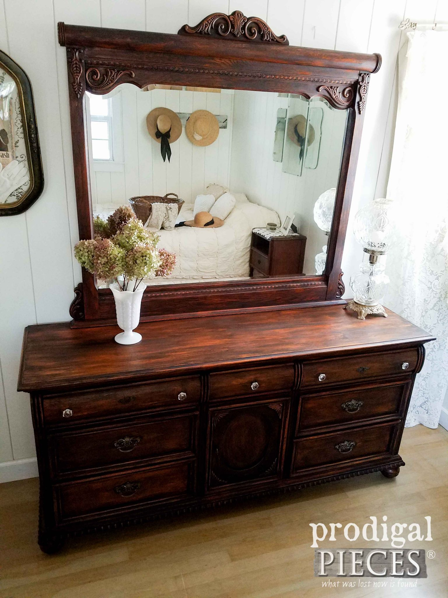 Vintage Lexington Victorian Dresser Updated by Prodigal Pieces | prodigalpieces.com
