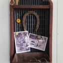 Repurposed Antique Corn Sifter Message Center by Prodigal Pieces for Flea Market Decor | prodigalpieces.com