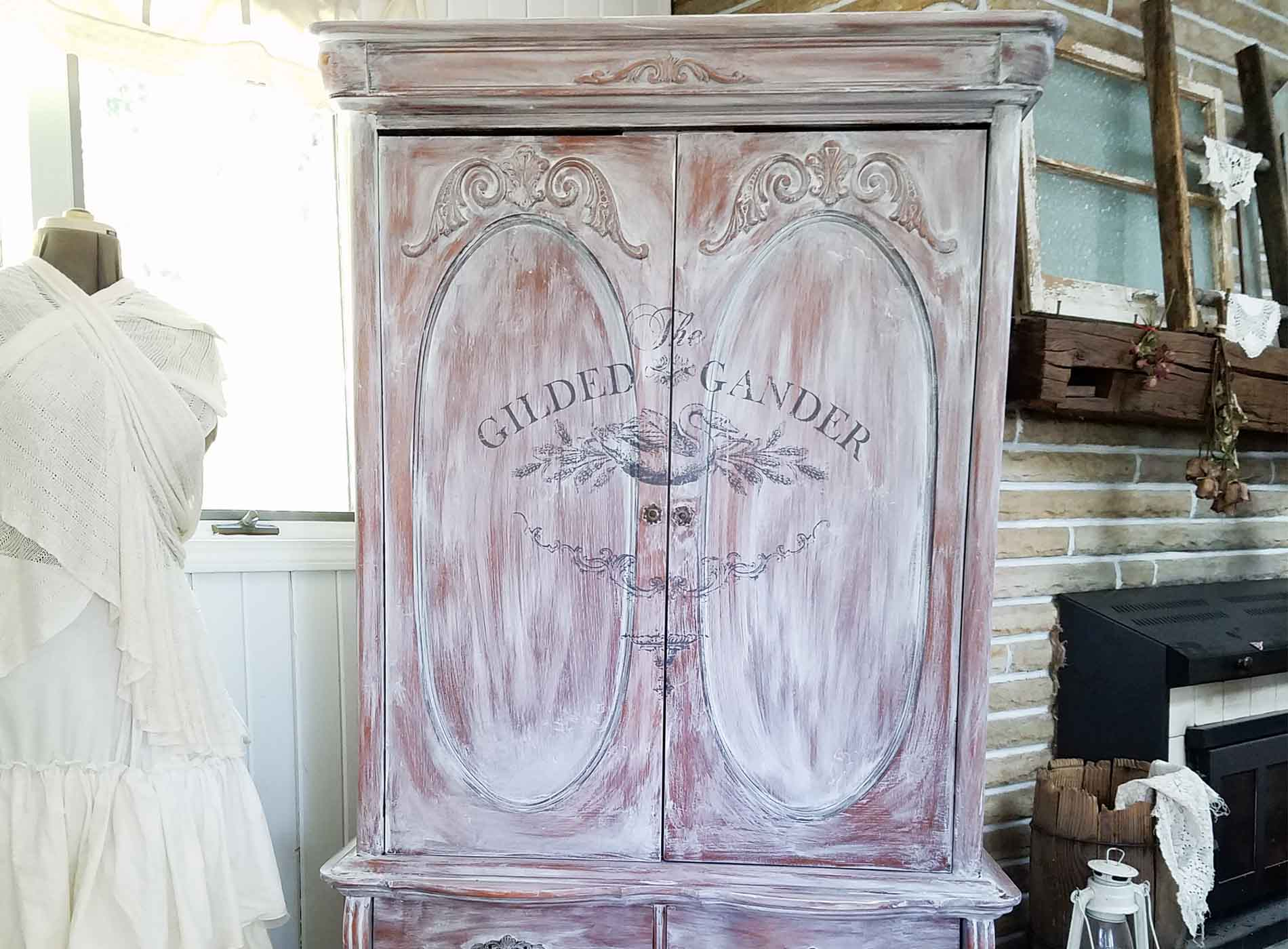 Featured French Country Armoire by Prodigal Pieces | prodigalpieces.com
