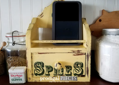 Featured DIY Charging Station by Prodigal Pieces | prodigalpieces.com