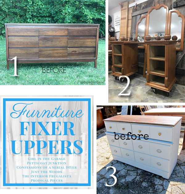 Furniture Fixer Uppers October 2017 | prodigalpieces.com