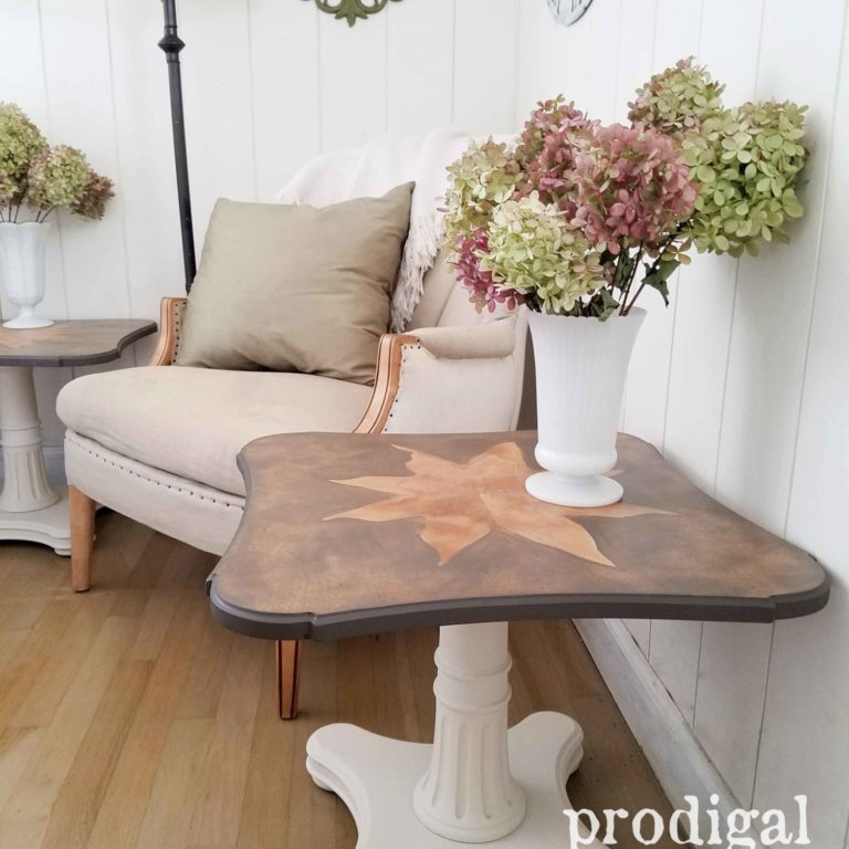Mid Century Modern End Tables by Prodigal Pieces | prodigalpieces.com