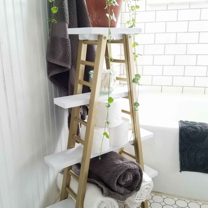 Boho Style Storage for Bathroom and More by Prodigal Pieces | prodigalpieces.com
