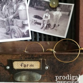 Repurposed Metal Art for Flea Market Decor by Prodigal Pieces | prodigalpieces.com