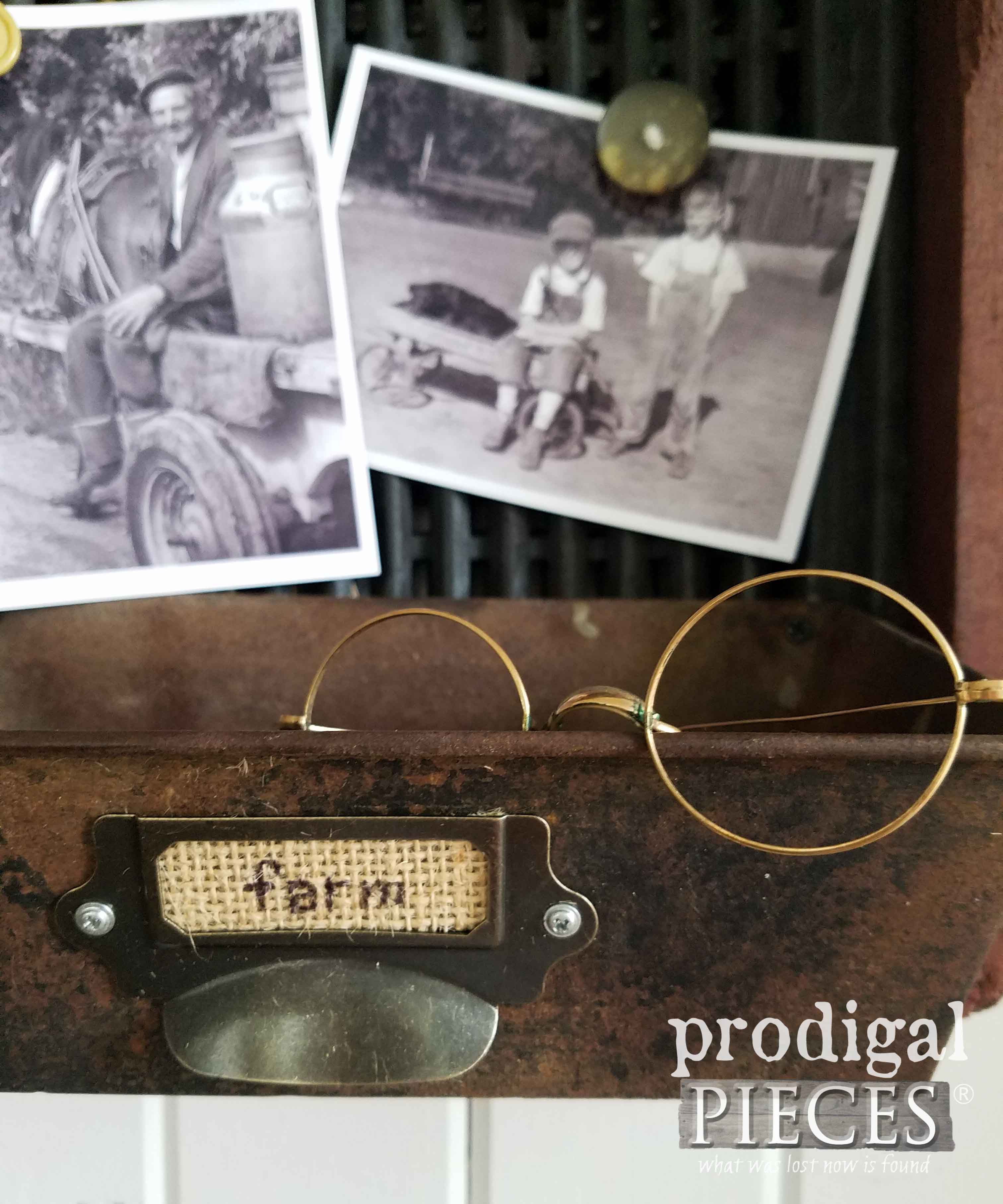 Repurposed Metal Art Antique Corn Sifter for Flea Market Decor by Prodigal Pieces | prodigalpieces.com