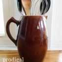 Farmhouse Stoneware Pitcher available at Prodigal Pieces | prodigalpieces.com