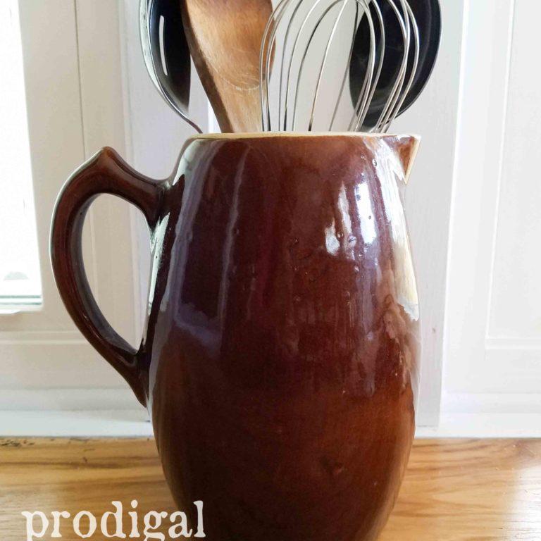 Farmhouse Stoneware Pitcher available at Prodigal Pieces | prodigalpieces.com
