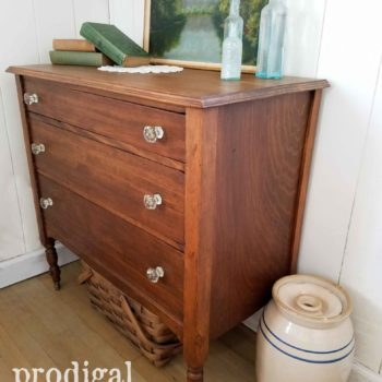 Farmhouse Style Chest of Drawers | prodigalpieces.com