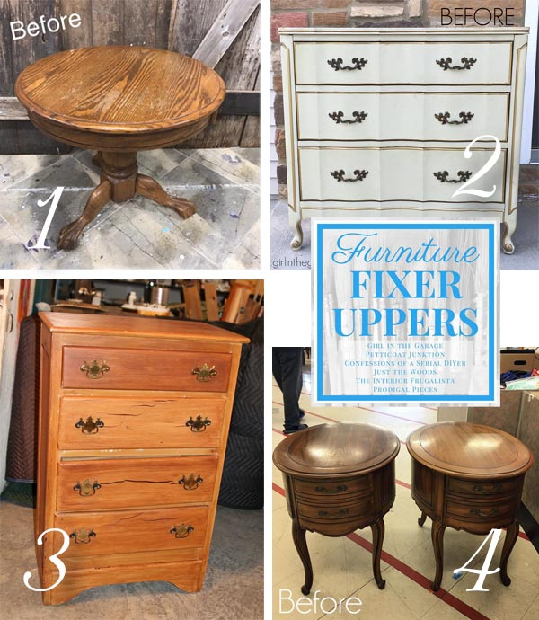Furniture Fixer Uppers November 2017 | prodigalpieces.com