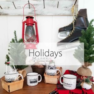Selection of Holiday Gift and Home Decor by Prodigal Pieces | prodigalpieces.com