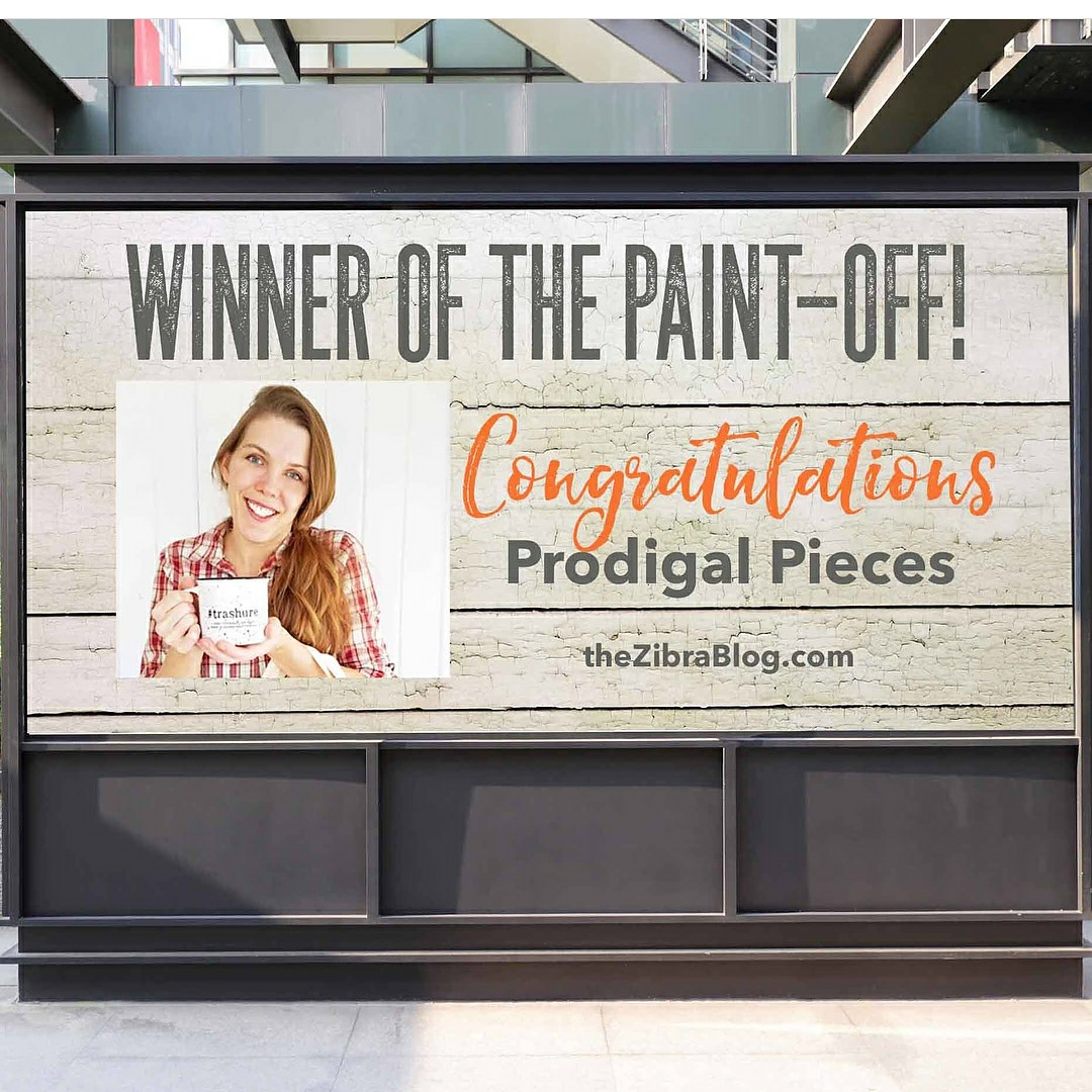 Larissa Haynes of Prodigal Pieces | Winner of the Zibra Paint Brush Paint-Off | prodigalpieces.com