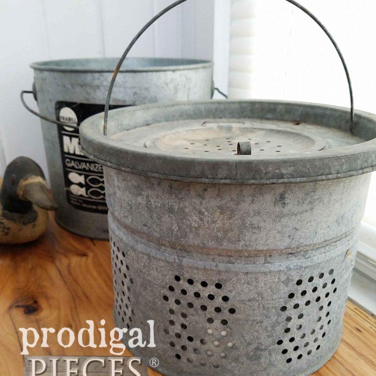 Vitnage Minnow Bucket | prodigalpieces.com