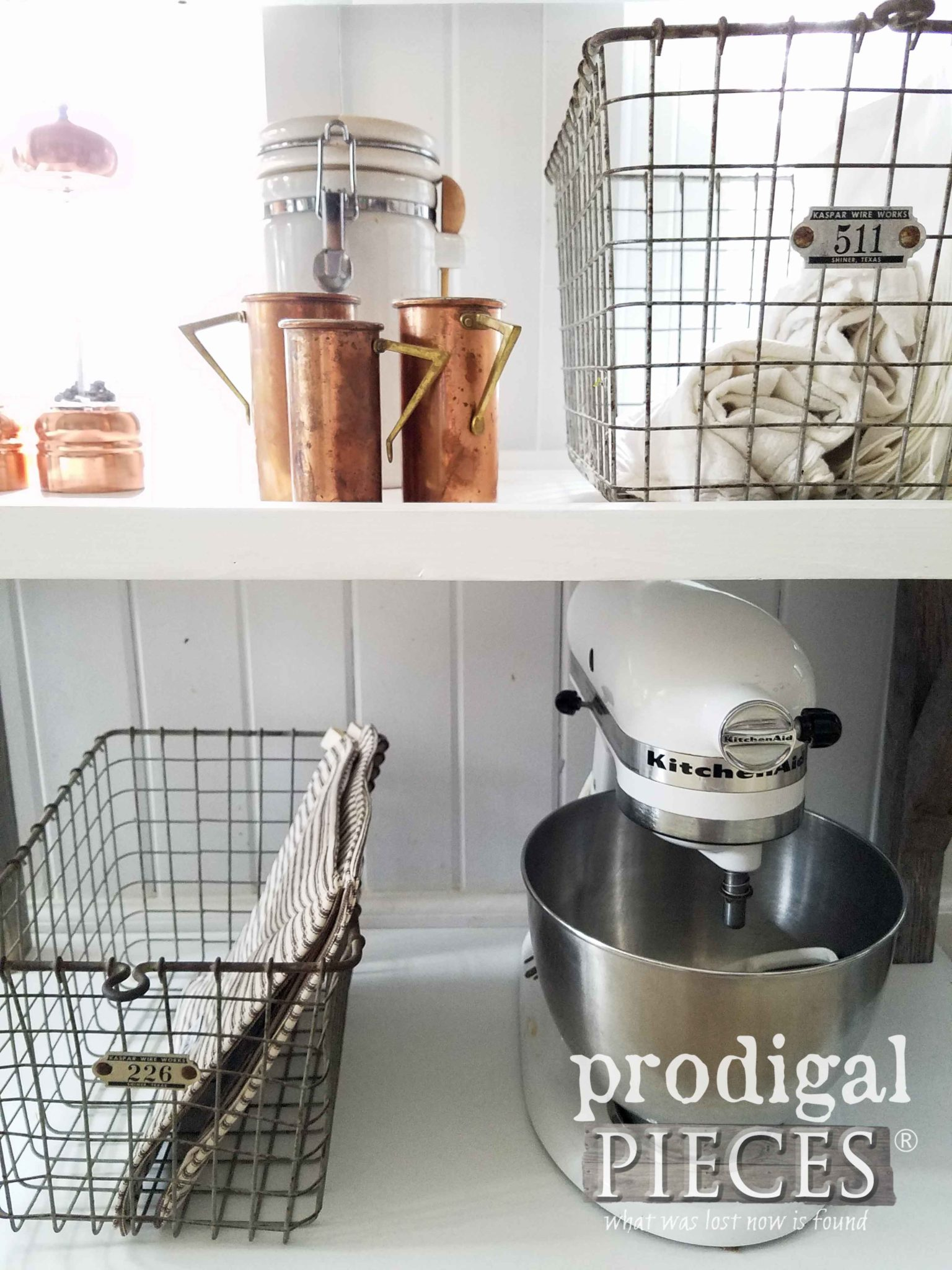Rustic Industrial Kitchen Cart by Prodigal Pieces | prodigalpieces.com