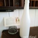 Antique Milk Glass Soda Bottle | Available at Prodigal Pieces | prodigalpieces.com