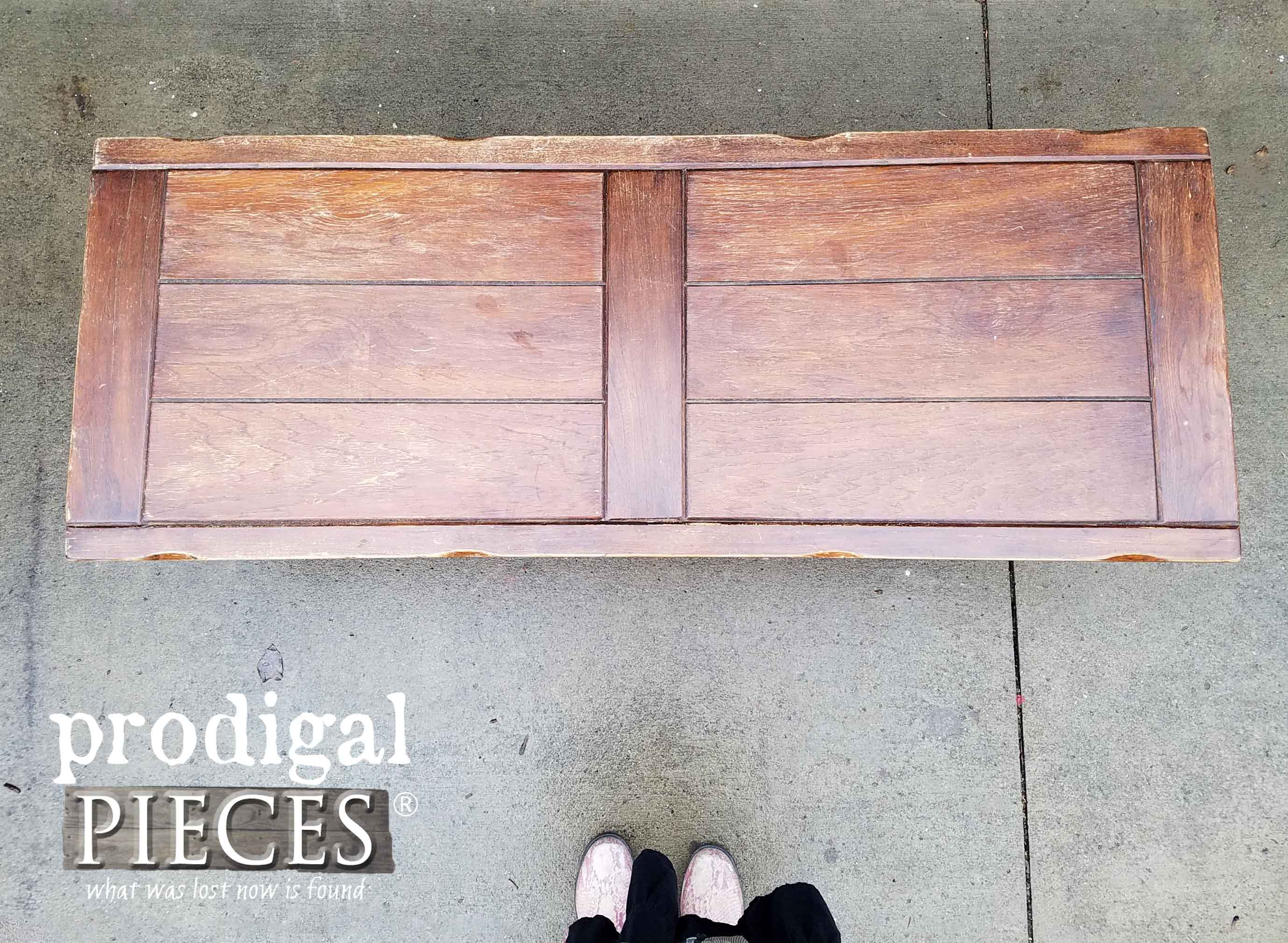 Thrifted Coffee Table Top | prodigalpieces.com