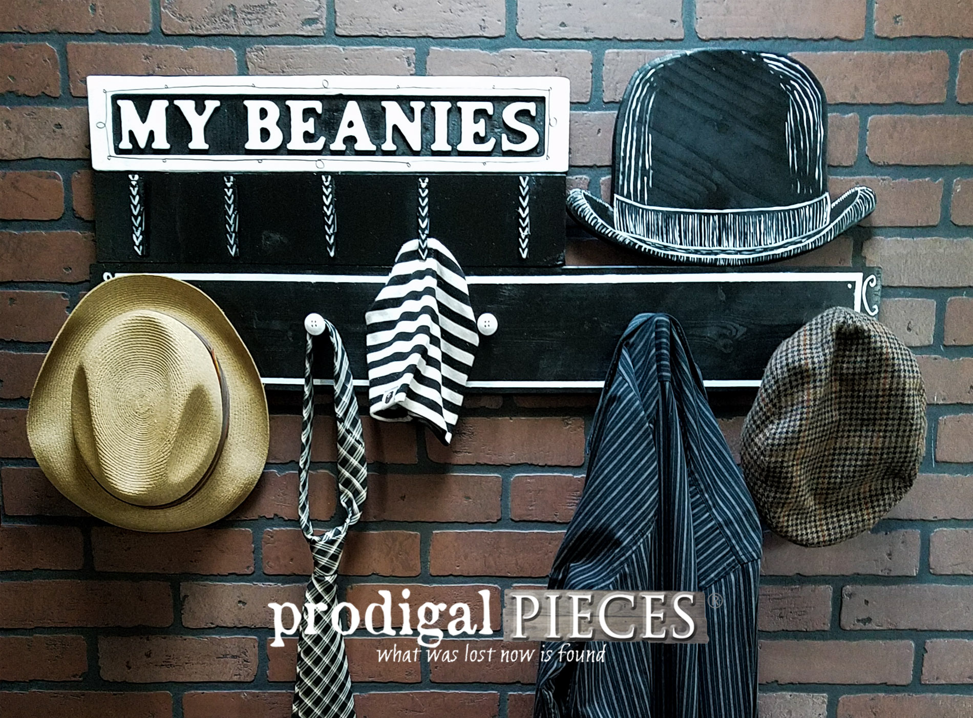 Featured Beanie Baby Shelf Repurposed Twice Over by Prodigal Pieces | prodigalpieces.com