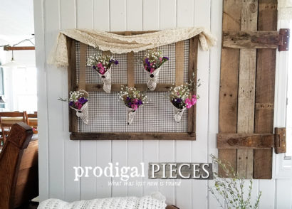 Featured Rustic Farmhouse Wall Art by Larissa of Prodigal Pieces | prodigalpieces.com