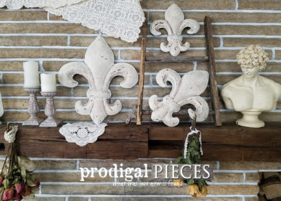 Featured Fleur de Lis Wall Art by Larissa of Prodigal Pieces | prodigalpieces.com