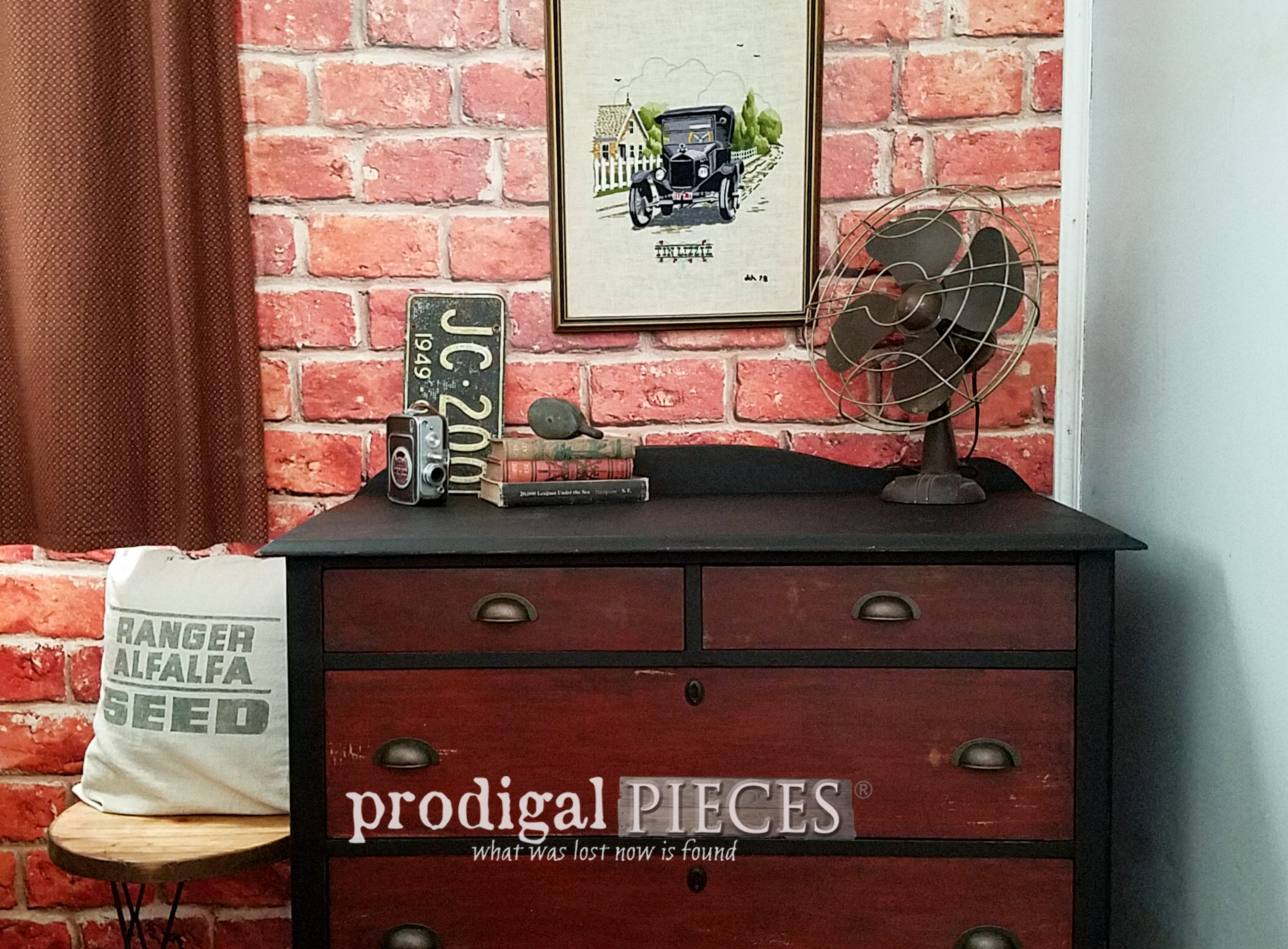 Featured Industrial Chest of Drawers by Larissa of Prodigal Pieces | prodigalpieces.com