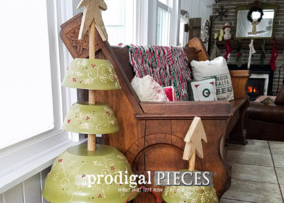 Featured Repurposed Christmas Trees by Larissa of Prodigal Pieces | prodigalpieces.com