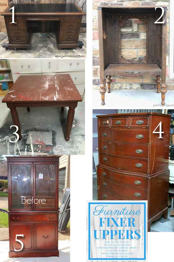Furniture Fixer Uppers December 2017 | prodigalpieces.com