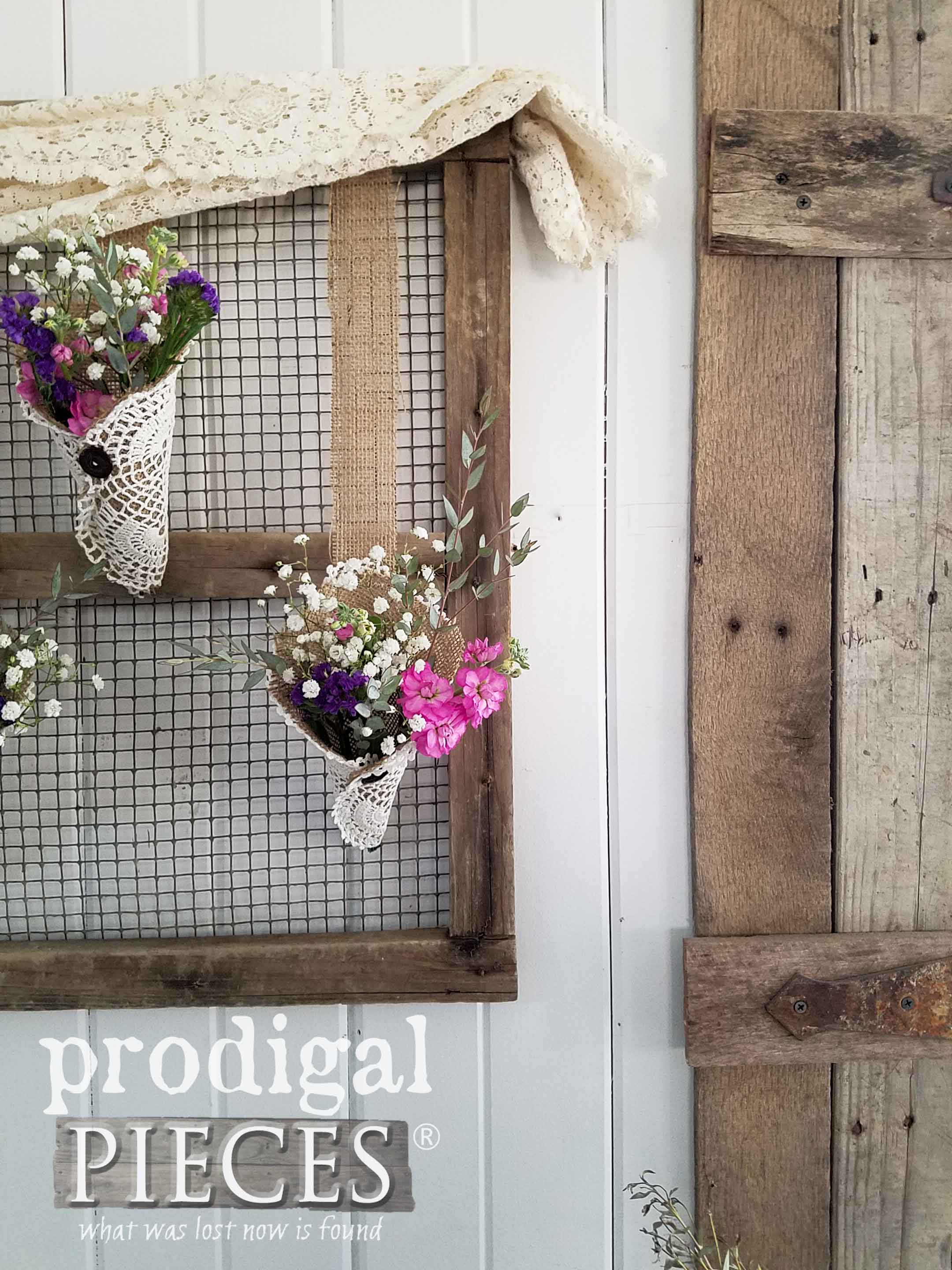 Rustic Chic Farmhouse Decor by Larissa of Prodigal Pieces | prodigalpieces.com
