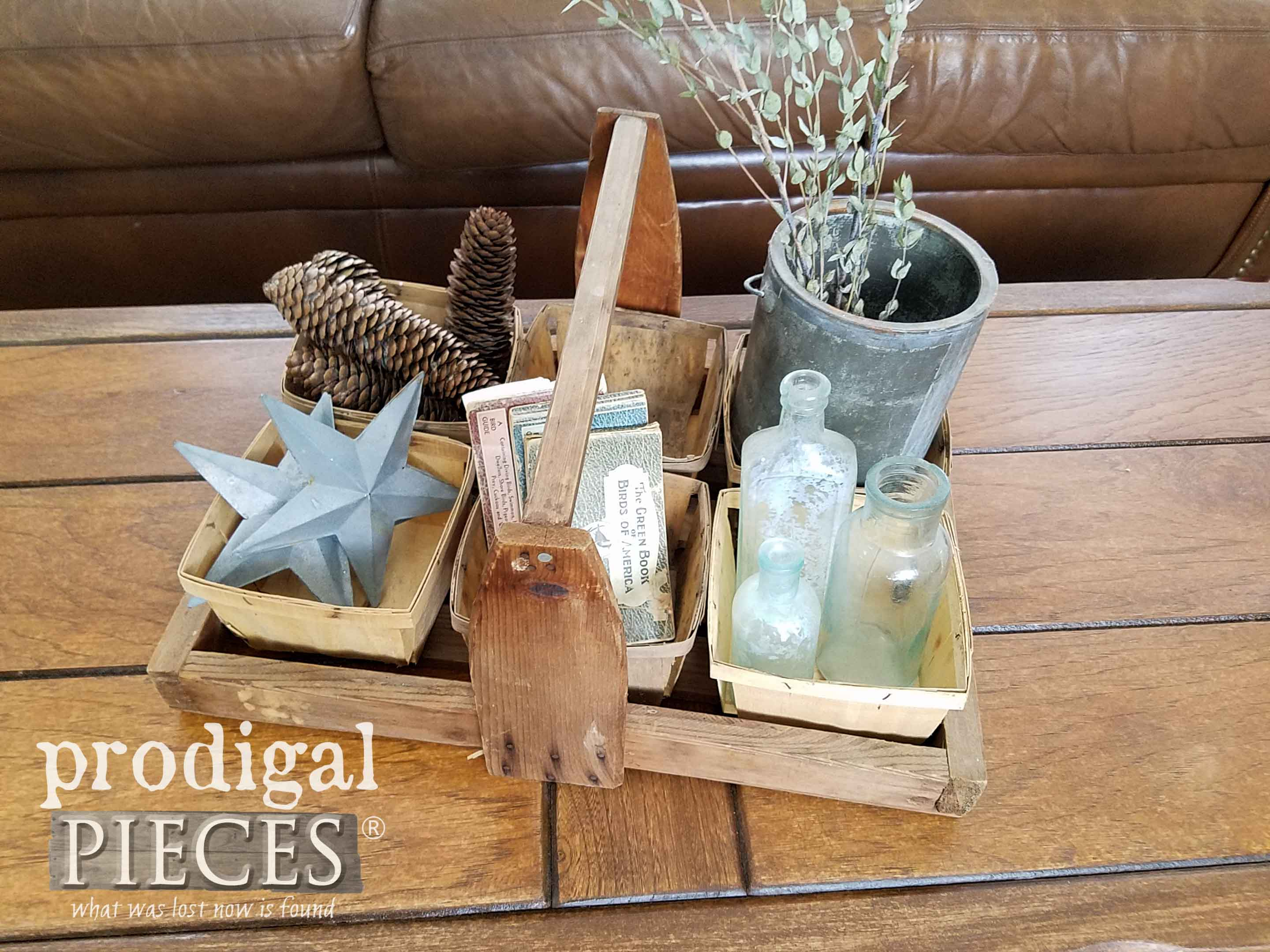 Rustic Farmhouse Decor from Flea Market Finds by Prodigal Pieces | prodigalpieces.com