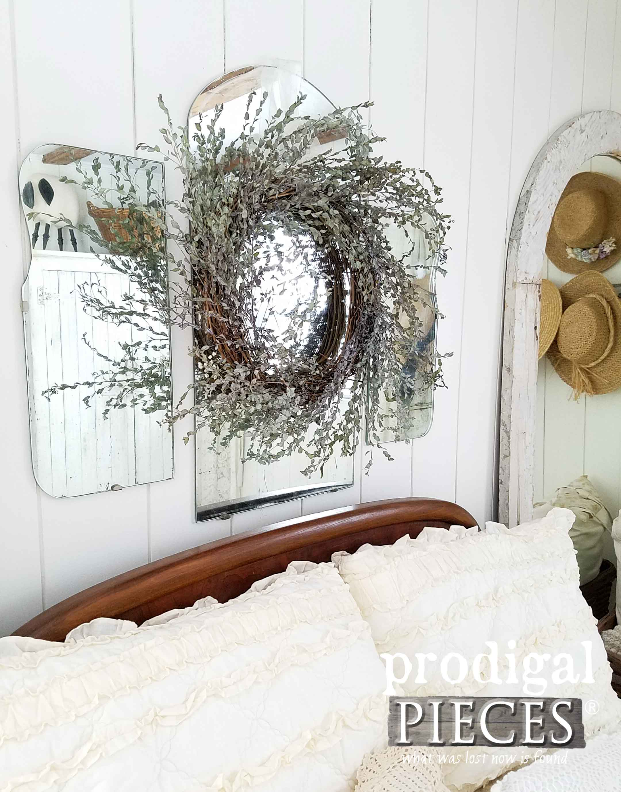 DIY Eucalyptus Wreath by Larissa of Prodigal Pieces | prodigalpieces.com