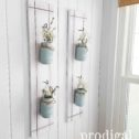 Farmhouse Ball Jar Hangers ~ Set of 2 ~ Available in 3 Color Choice | See details at Prodigal Pieces | prodigalpieces.com