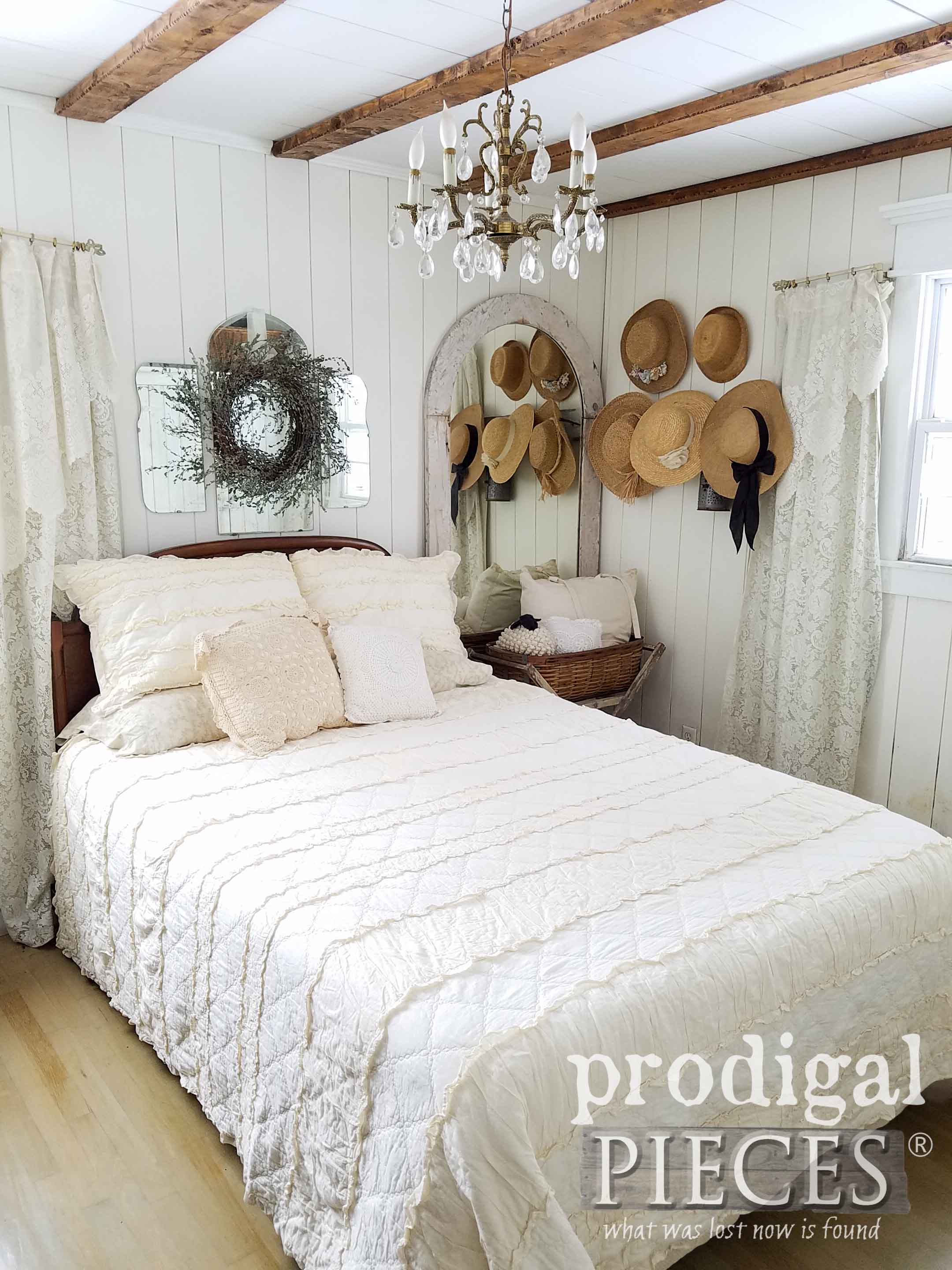 Farmhouse Style Master Bedroom by Larissa of Prodigal Pieces | prodigalpieces.com