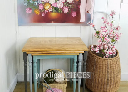 Featured Vintage Nesting Tables by Larissa of Prodigal Pieces | prodigalpieces.com