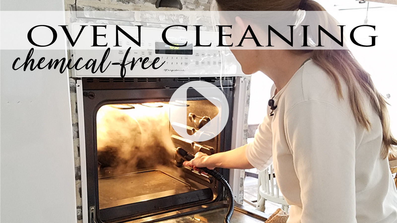 DIY Video Tutorial for Chemical-Free Oven Cleaning   prodigalpieces.com
