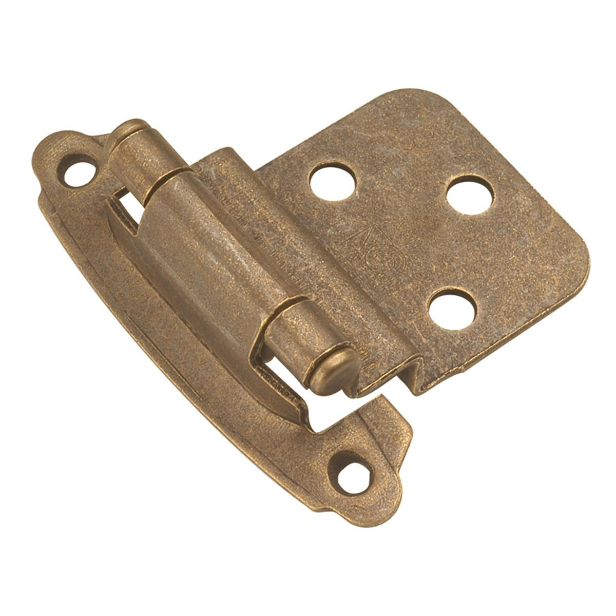 Hickory Hardware Windover Antique Brass Hinges | prodigalpieces.com
