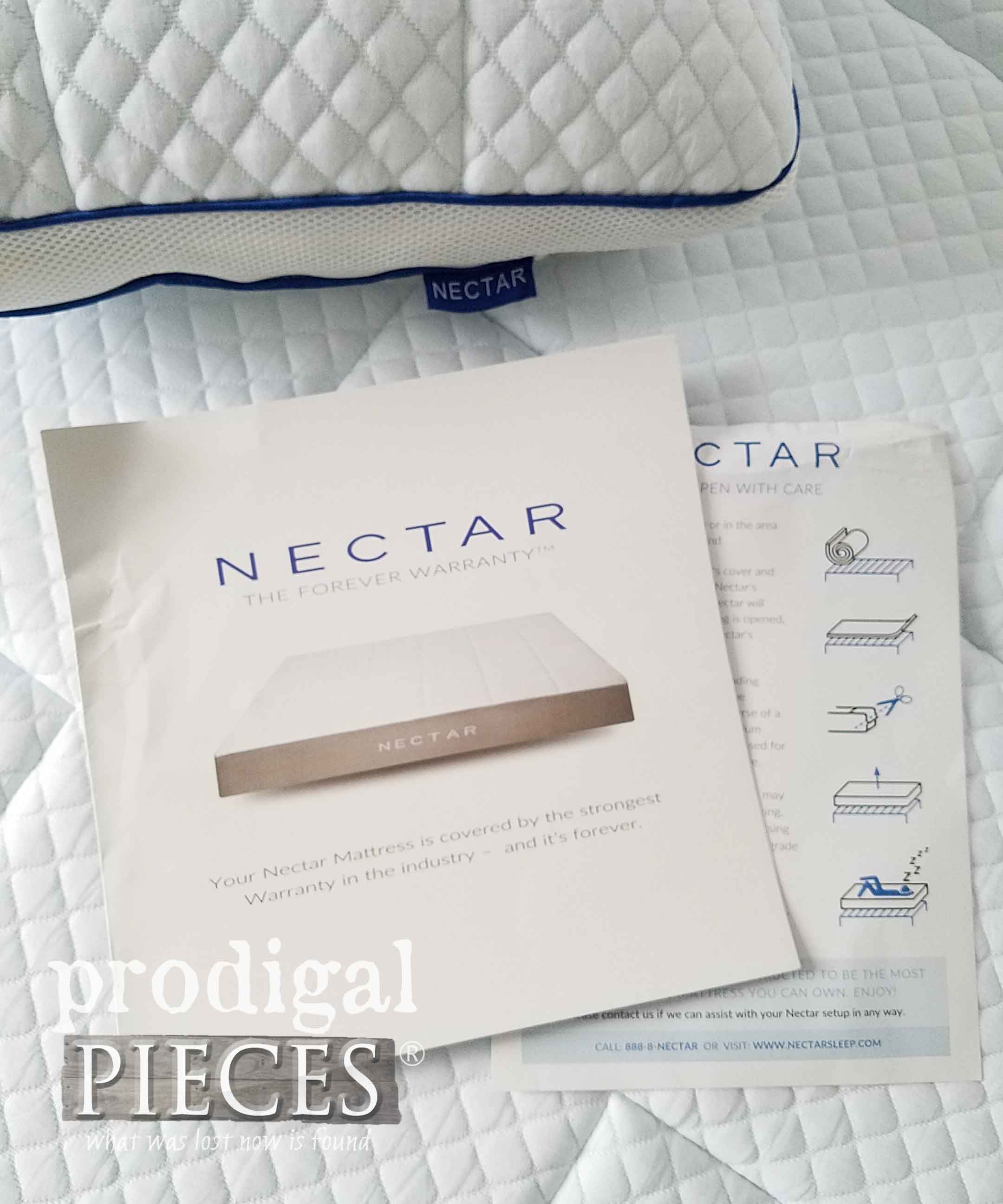 Memory Foam NECTAR mattress review by Prodigal Pieces | prodigalpieces.com