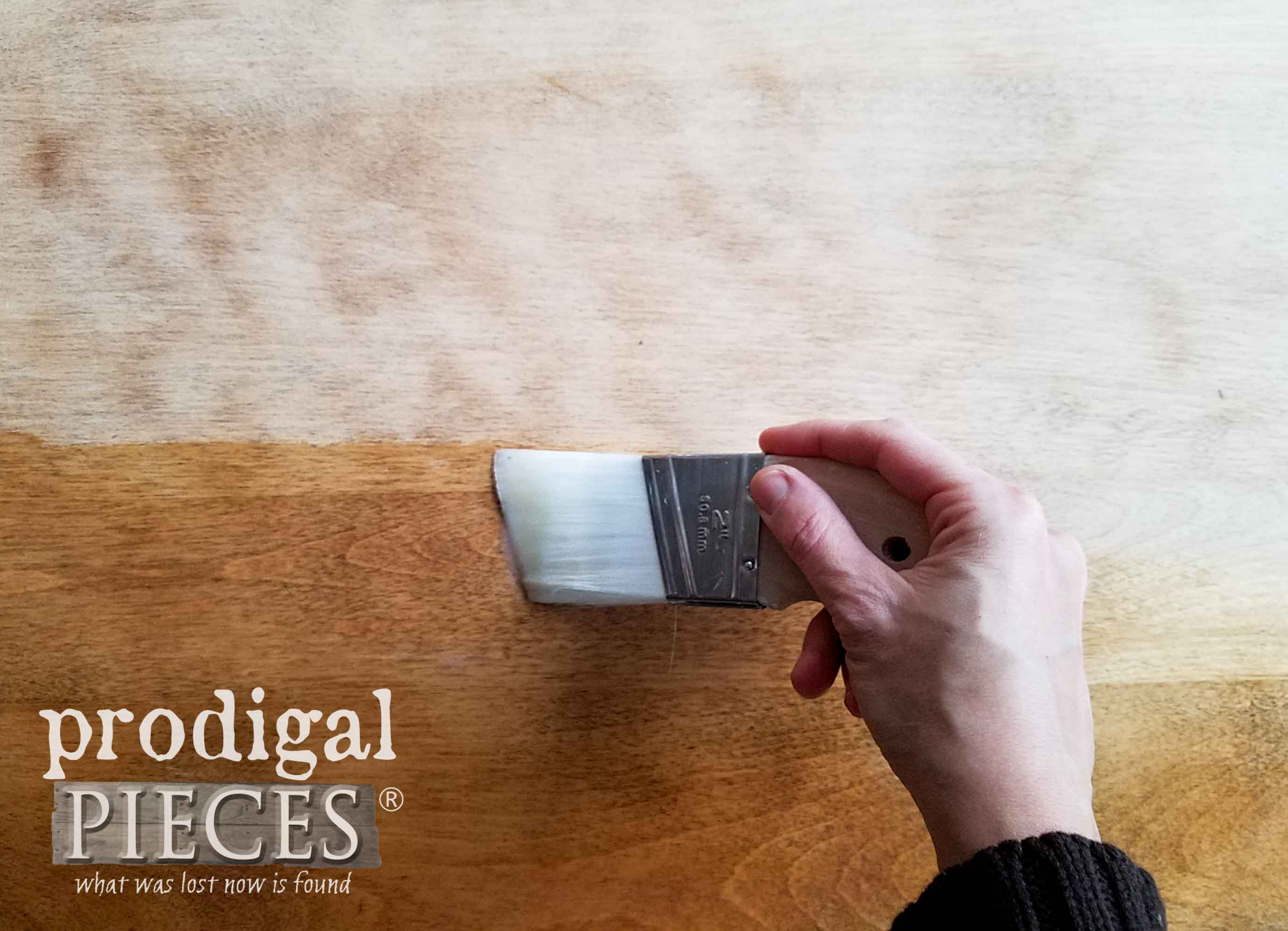 Zibra Palm Pro to Apply Topcoat to Nesting Tables | prodigalpieces.com