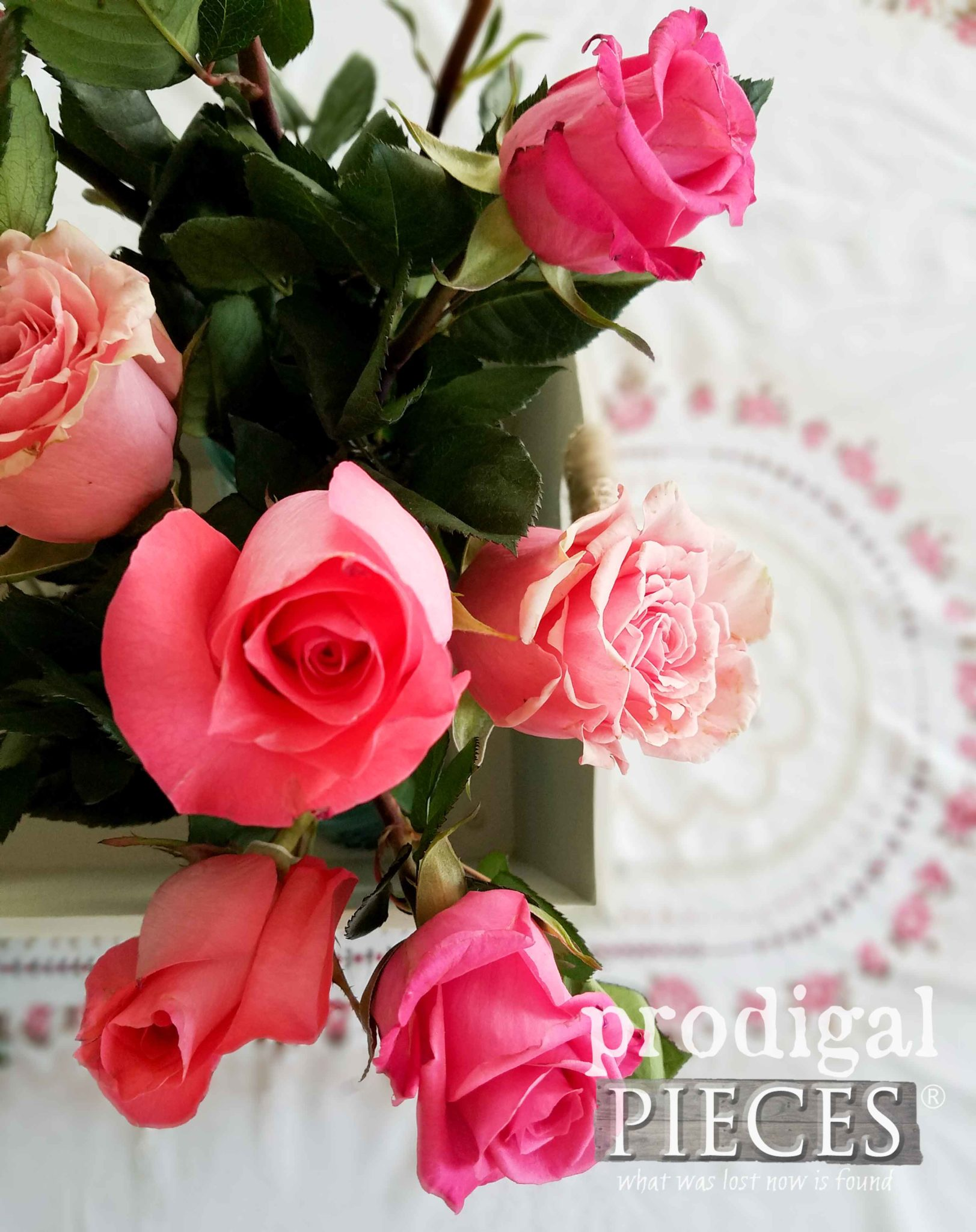 Bouquet of Pink Roses | prodigalpieces.com