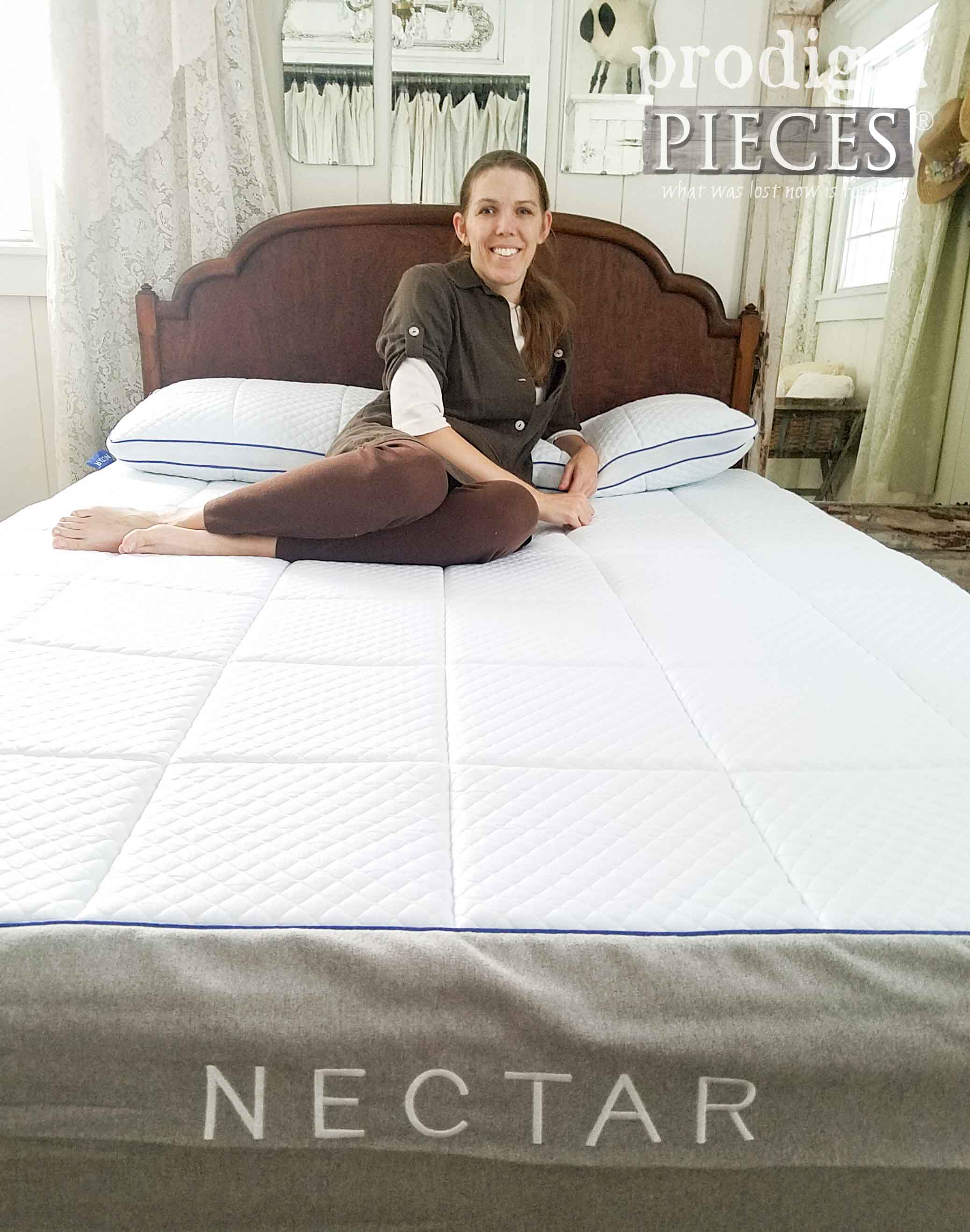 Larissa Haynes on her review of NECTAR mattress. Read her honest opinion at Prodigal Pieces | prodigalpieces.com
