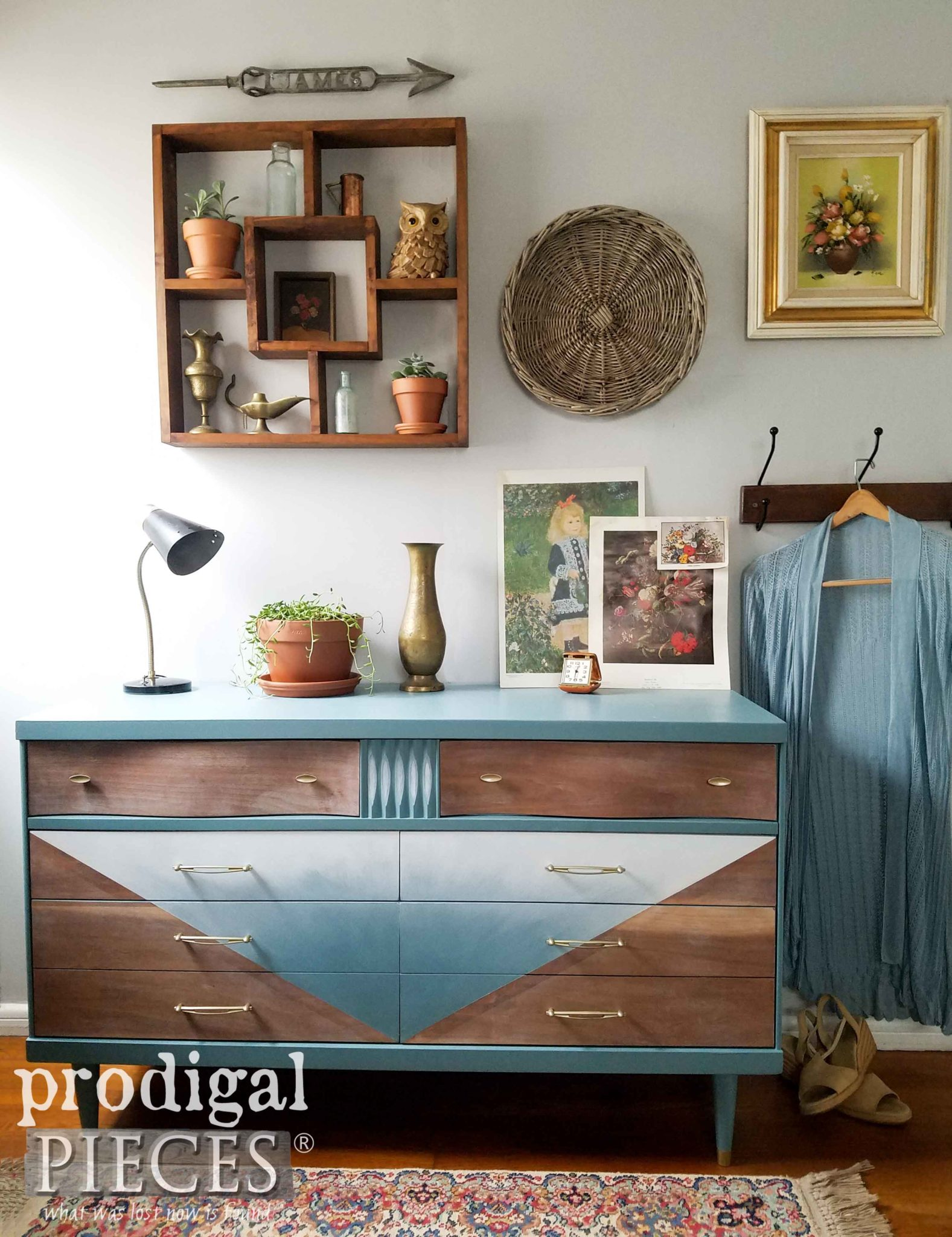 Boho Chic Style Bedroom by Larissa of Prodigal Pieces | prodigalpieces.com