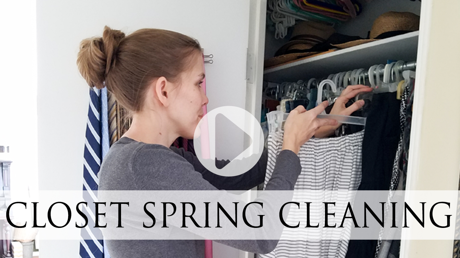 DIY Video Tutorial for Closet Spring Cleaning by Larissa of Prodigal Pieces   prodigalpieces.com