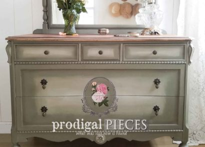 Featured Antique Dresser Given Time-Worn Love by Prodigal Pieces | prodigalpieces.com