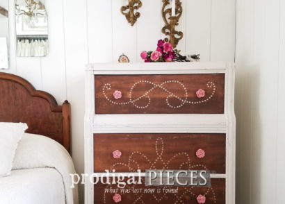 Featured Art Deco Chest Refinished by Teen | prodigalpieces.com