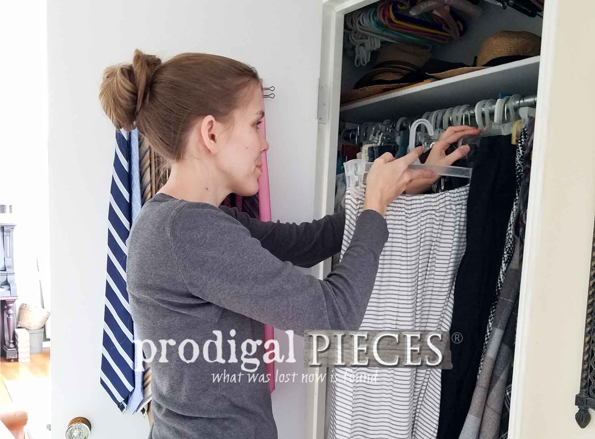 Featured Closet Spring Cleaning with the HomeRight EZ-Twist Paint Stick by Prodigal Pieces | prodigalpieces.com