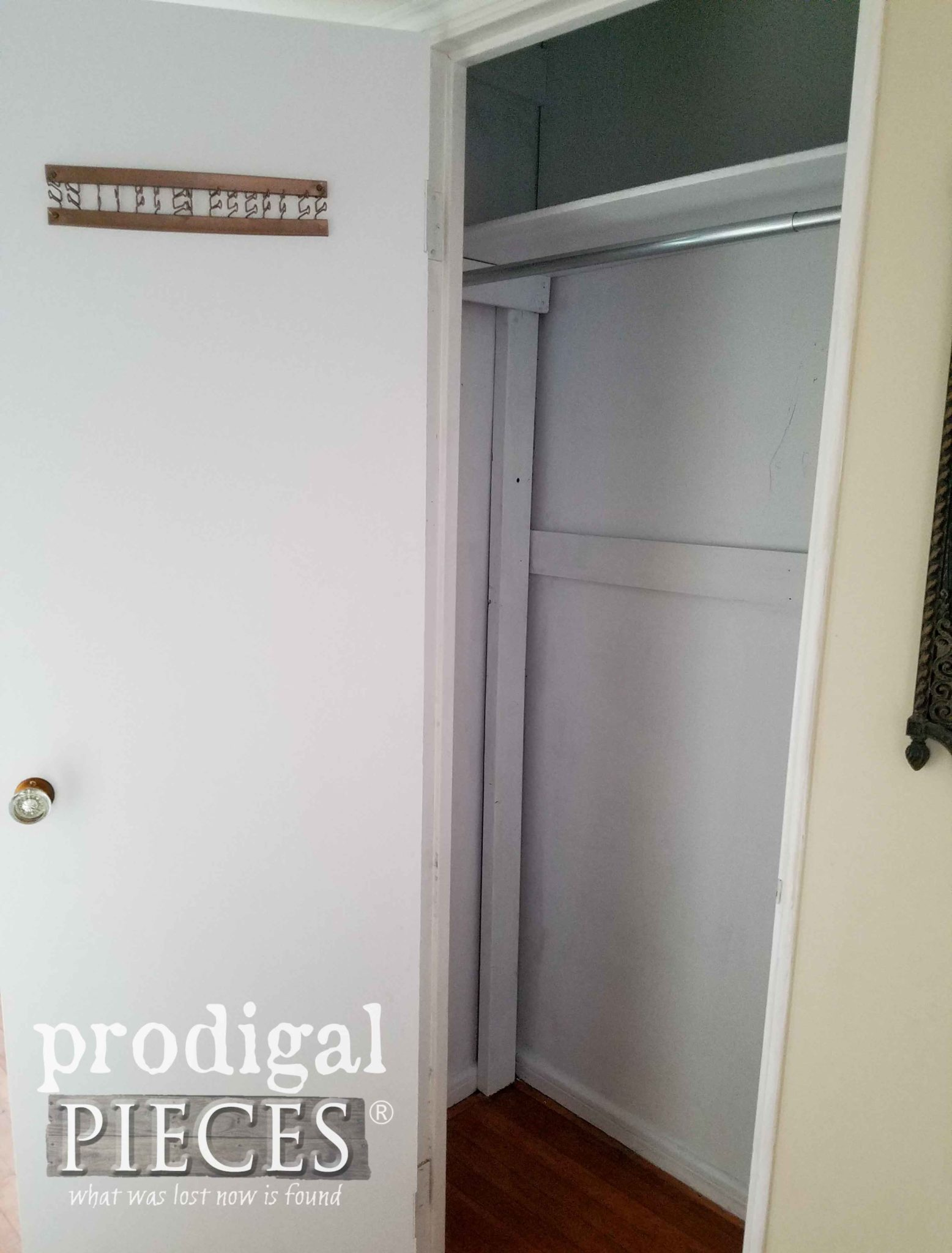 Finished Hall Closet | prodigalpieces.com