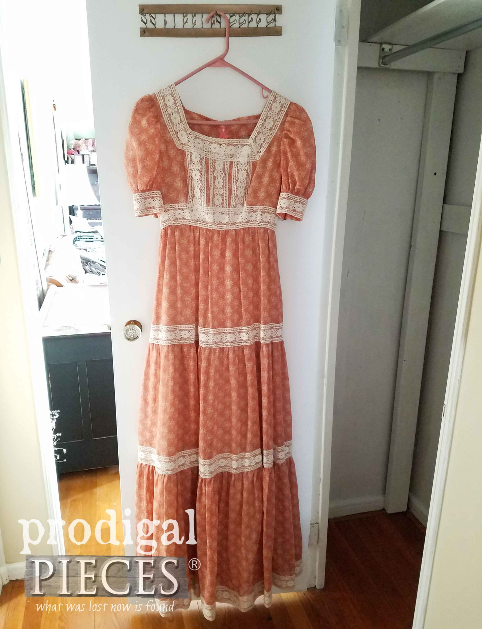 Thrifted Handmade Prairie Dress | Prodigal Pieces | prodigalpieces.com