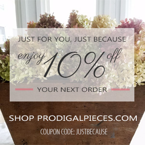 Enjoy 10% off Your First Order at Prodigal Pieces | prodigalpieces.com/shop