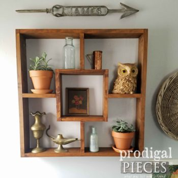 Modern Shadow Box Shelf for Storage by Prodigal Pieces | prodigalpieces.com