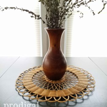 Boho Chic Style Centerpiece by Larissa of Prodigal Pieces | prodigalpieces.com