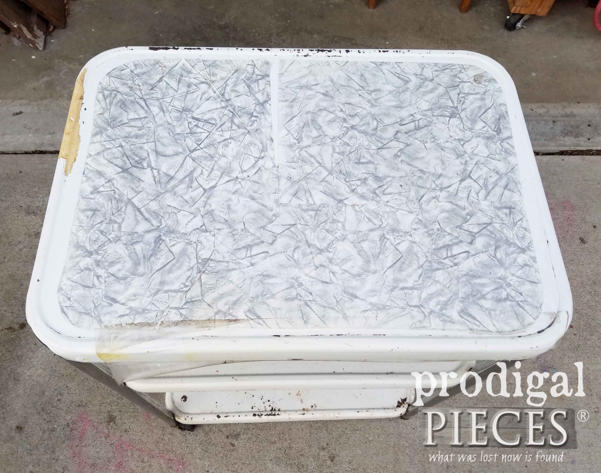 Vintage Cosco Cart Top | prodigalpieces.com